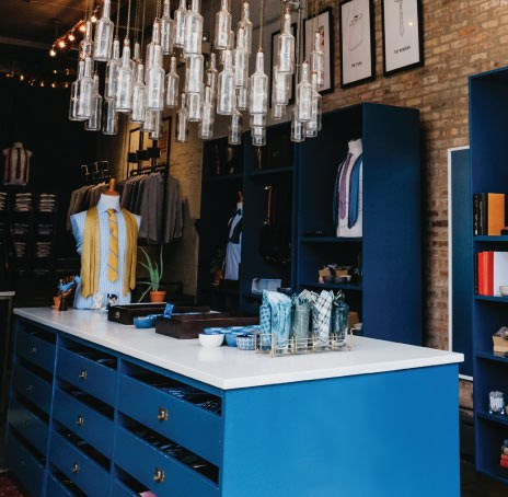 The Tie Bar Store Inside