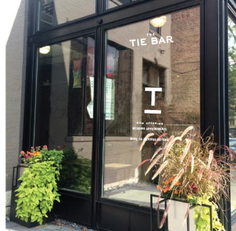 The Tie Bar Store Outside