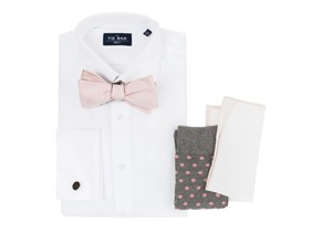 Pink Bow Tie Wedding Combo