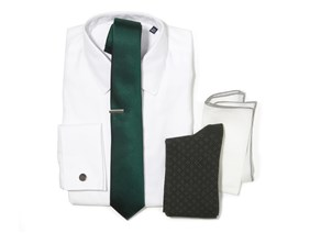 Hunter Green Wedding Combo