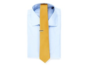 Blue Shirt & Yellow Tie Combo