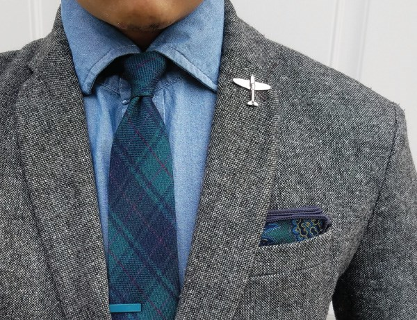 The Tie Bar Father's Day Gift Ideas - Outfit Idea from Celebrity Dad thedressedchest