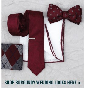 Shop Burgundy Wedding Looks