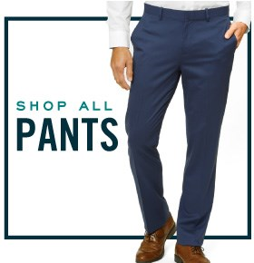 Dress pants are here