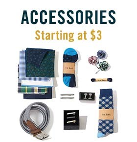 Accessories Starting at $3