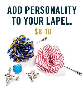 Add Personality To Your Lapel