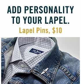 Add Personality To Your Lapel.