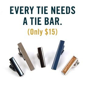 Every Tie Needs A Tie Bar