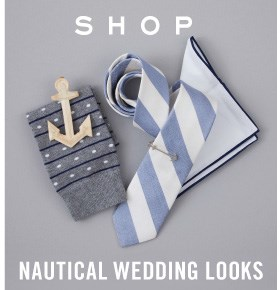 Nautical Wedding Looks