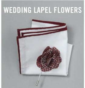 Wedding Lapel Flowers