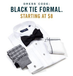 Dress Code: Black Tie Formal