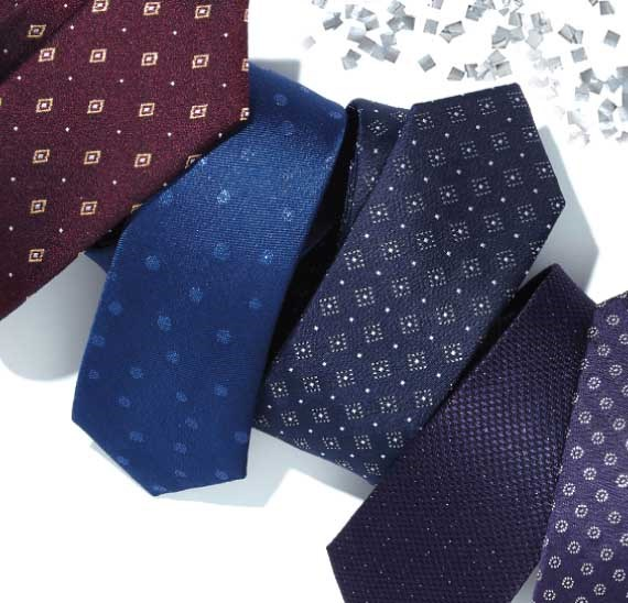 The Tie Bar Holiday Shop - Lurex Metallic Ties and Accessories