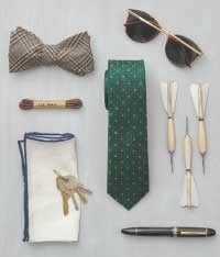 The Tie Bar - Finish The Look Accessories