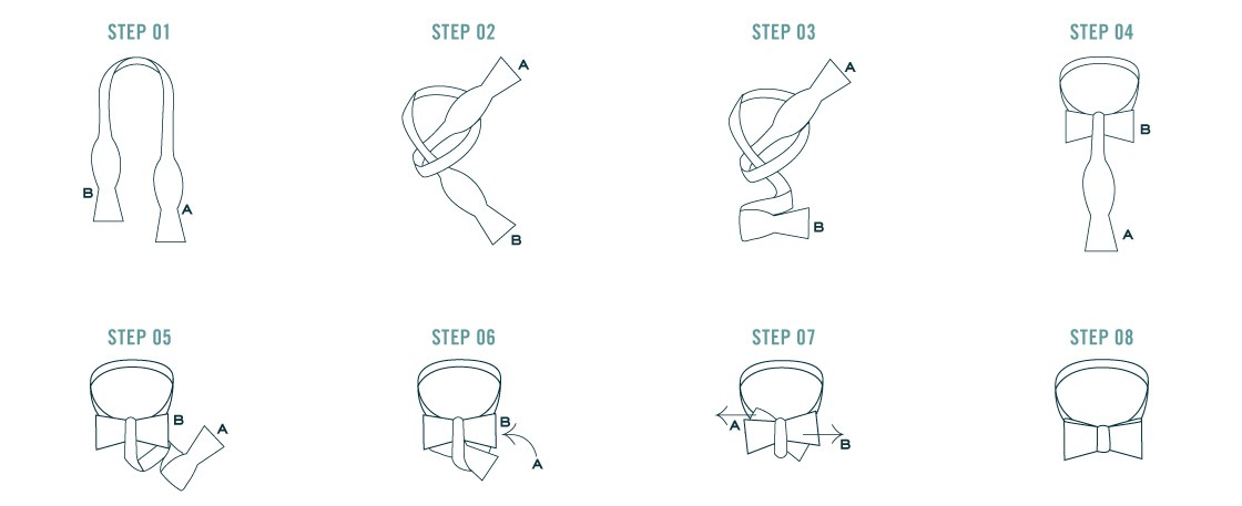 How To Tie A Bow Tie The Tie Bar