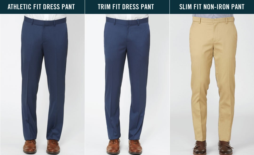 Men's Dress Pants Size & Fit Guide | The Tie Bar