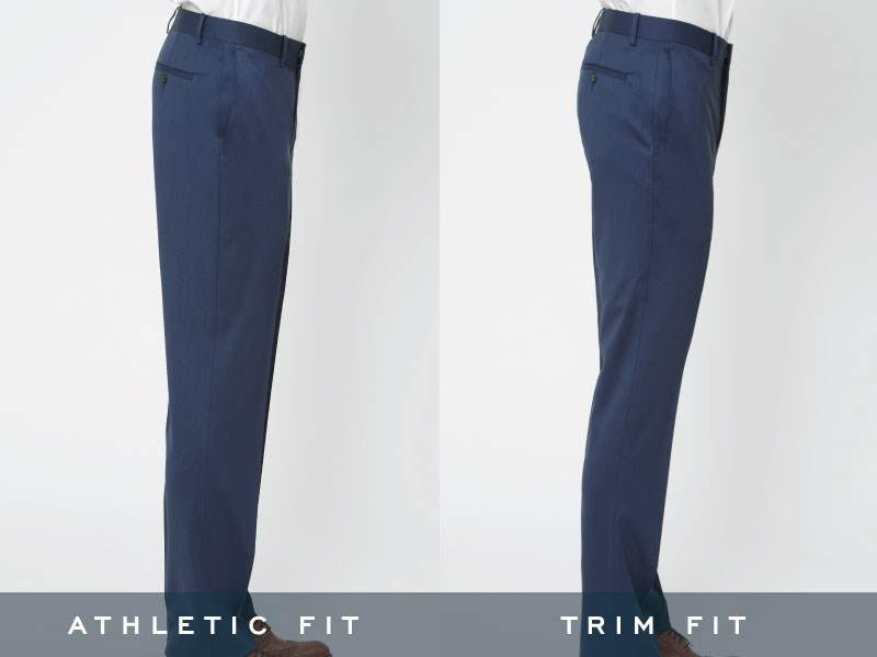 The Tie Bar pants, side view