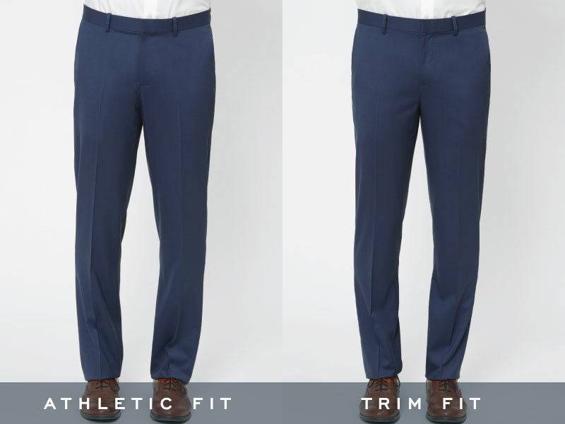 The Tie Bar pants, standing straight front view