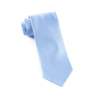 solid texture light cornflower ties