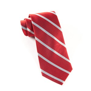 trad stripe red ties