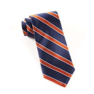 honor stripe orange ties