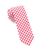 Ties - New Gingham - Red