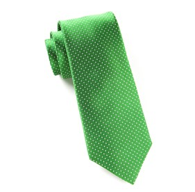 Pindot Kelly Green Ties