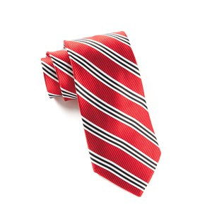 bar stripes red ties