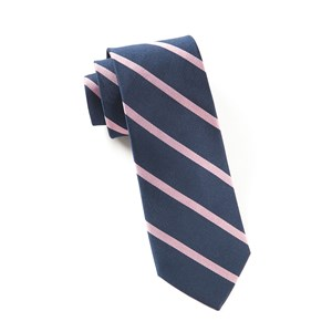 trad stripe navy ties