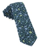 Ties - Southey Floral - Green Teal
