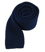 Ties - Knitted - Blue