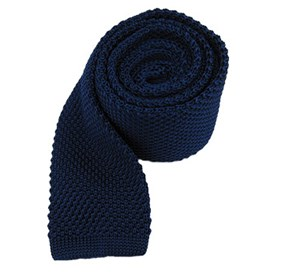 Blue Knitted ties