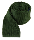 Ties - Knitted - Hunter Green