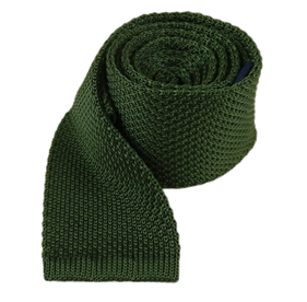 Hunter Green Knitted ties