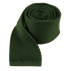 Hunter Green Knitted Tie - Hunter Green Knitted Tie primary image