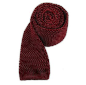 Red Knitted ties