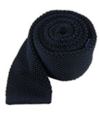Ties - Knitted - Midnight Navy