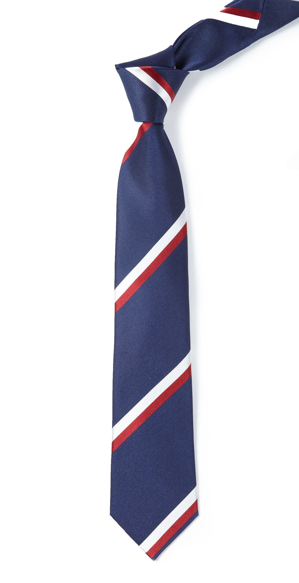 Classic navy ad stripe tie ties bow ties and pocket squares classic navy ad stripe tie classic navy ad stripe tie ccuart Image collections