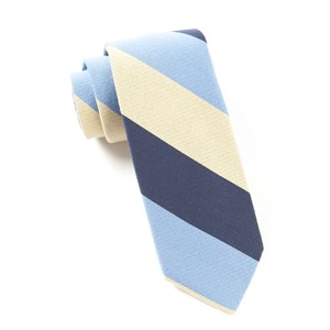 big wool stripe butter ties