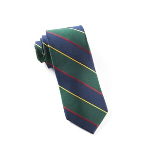 boarding stripe navy ties