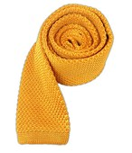 Ties - Knitted - Gold