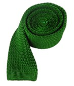 Ties - Knitted - Kelly Green