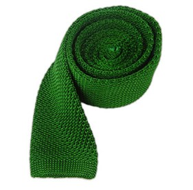 Kelly Green Knitted ties