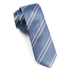 double stripe carolina blue ties