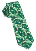 Ties - Tiki Shack - Hunter Green