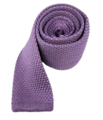 Ties - Knitted - Lavender