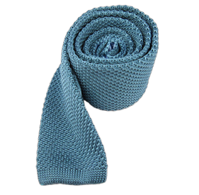 Ocean Knitted ties