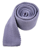 Ties - Knitted - Lilac