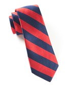 Ties - CLASSIC TWILL - Red