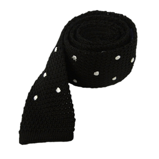 knit polkas black ties