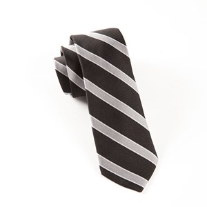 honor stripe black ties